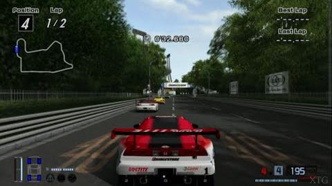 Gran Turismo 4 - Honda LOCTITE MUGEN NSX (JGTC) HD PS2 Gameplay