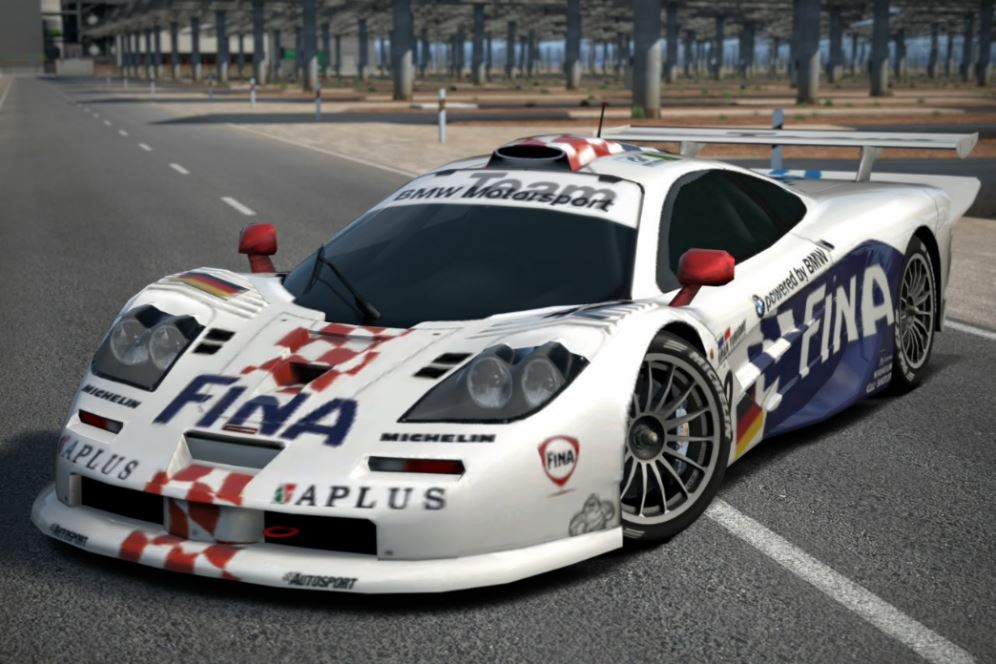 image bmw mclaren f1 gtr race car gran turismo wiki fandom powered by wikia. Black Bedroom Furniture Sets. Home Design Ideas