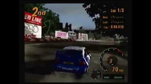 Gran Turismo 3 - Ford Escort Rally Car - Swiss Alps (Rally Race)