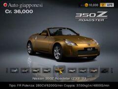 Nissan 350Z Roadster (Z33, EU) '03