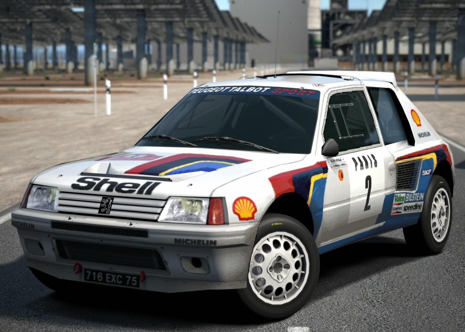 Peugeot 205 Turbo 16 Rally Car 85 Gran Turismo Wiki