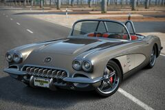 Art Morrison Corvette '60 (SEMA Gran Turismo Awards 2006)