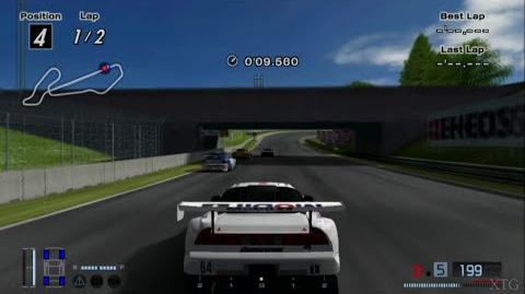 Gran Turismo 4 - Honda Mobil 1 NSX (JGTC) HD PS2 Gameplay