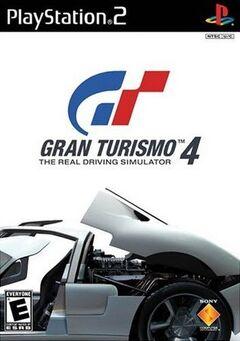 Gran Turismo 4 Cover