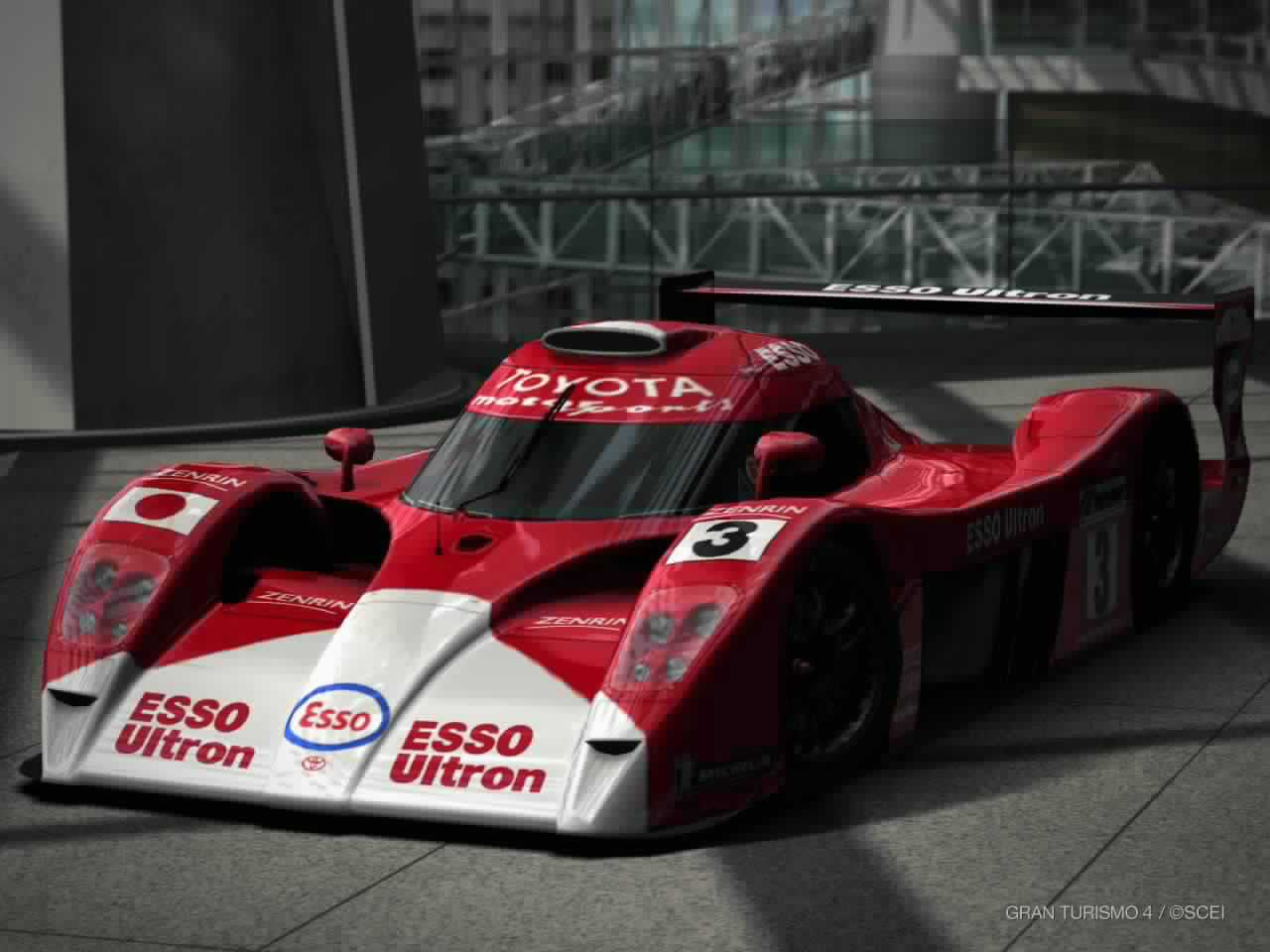 toyota gt one race car ts020 39 99 gran turismo wiki. Black Bedroom Furniture Sets. Home Design Ideas
