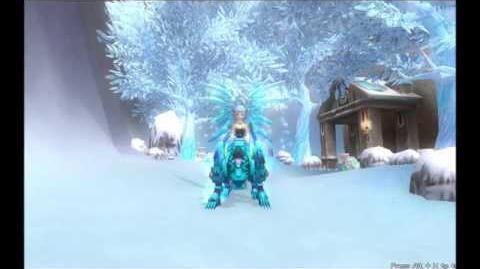Ice Blue Tiger Combat Mount. Grand Fantasia US