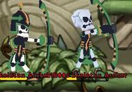 Skeleton Archer and Boss