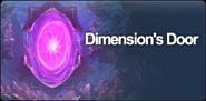 Dimension's Door