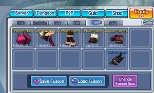 Fusion menu