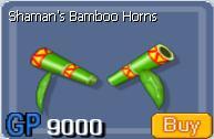 Shaman Bamboo Horn