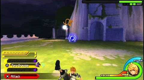 Kingdom Hearts Birth By Sleep - Secret Boss Mysterious Figure - Ventus 1080P