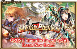 Siege Wars First Front Banner