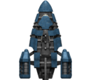 Federation Gazelle Frigate Hull
