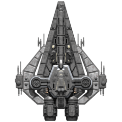 Rebel Minotaur Cruiser