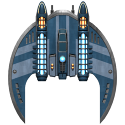 Federation Hawk Fighter