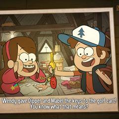 Поздняя версия игры имеет более современную рисовку.
