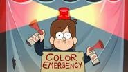 Short10 color emergency