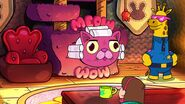 S2e19 pink cat appears