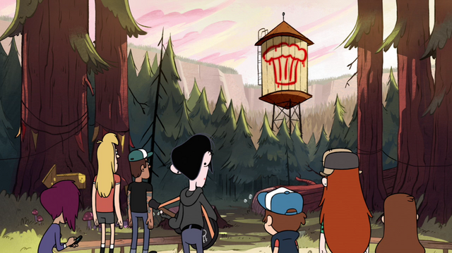File:S1e5 graffiti on water tower.png