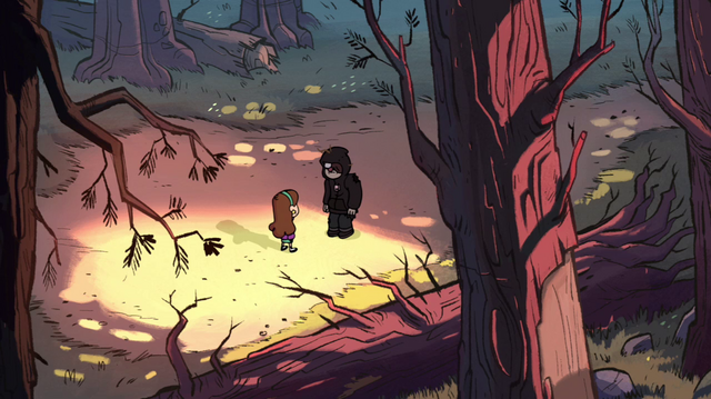 File:S1e1 mabel and norman in woods.png