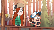 S1e9 dipper and wendy switch places