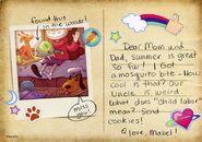 Postcard promo Mabel