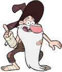 Old Man McGucket appearance