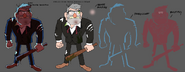 Stan beat up character sheet