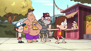 S1e15 pines family at pool