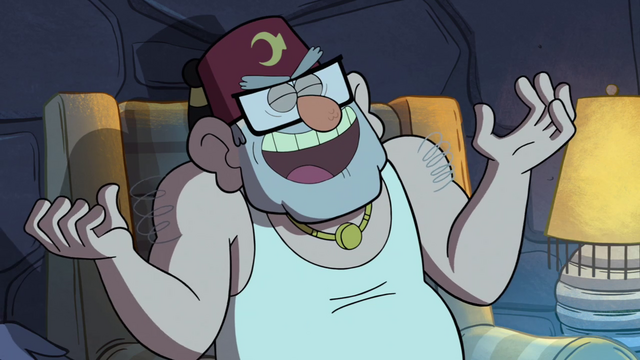 File:S1e12 Grunkle Stan laughs.png