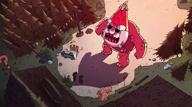 File:S1e1 gnome monster at mystery shack.png