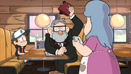 S1e6 grunkle stan at dinner