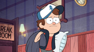 S1e16 dipper forages on