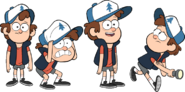 OddityCreator Dipper designs