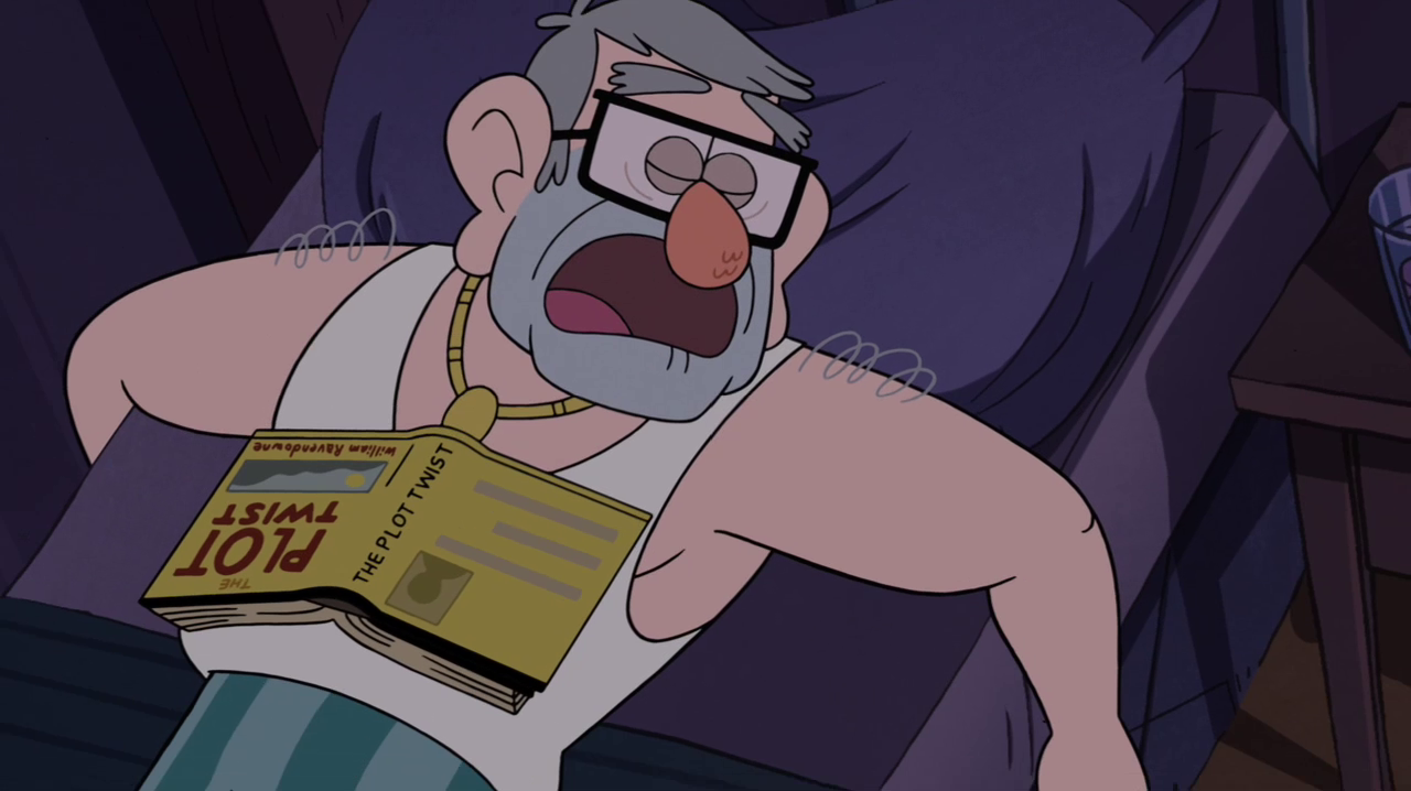 Image - S1e14 sleeping stan.png   Gravity Falls Wiki