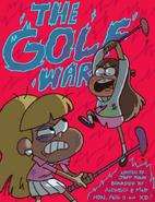 Matt Braly The Golf War promo art