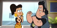 Reggie's fiancée