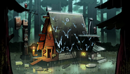 S2e12 mystery shack through the years3