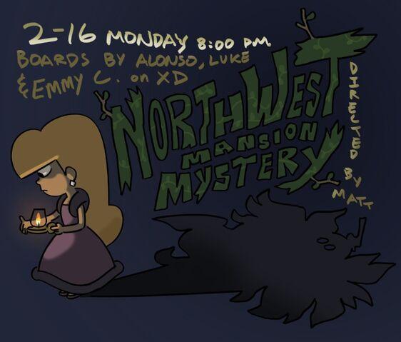 File:S2E10 Northwest Mansion Mystery Poster.jpg