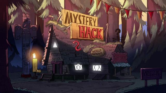 File:S1e5 mystery shack sun set.png