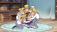S1e17 group hug