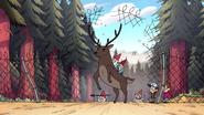 S1e20 gnomes riding deer