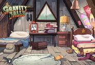 Postcard creator dipper and mabels room