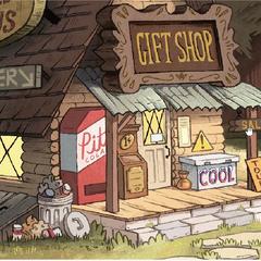 Сувенирный магазинчик в  <a href=