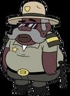 Sheriff Blubbs appearance