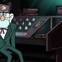 Символ в эпизоде «Жуткое каракое».