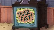 S1e4 tiger fist logo