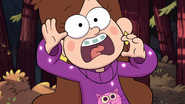 S1e1 mabel screaming in cat sweater