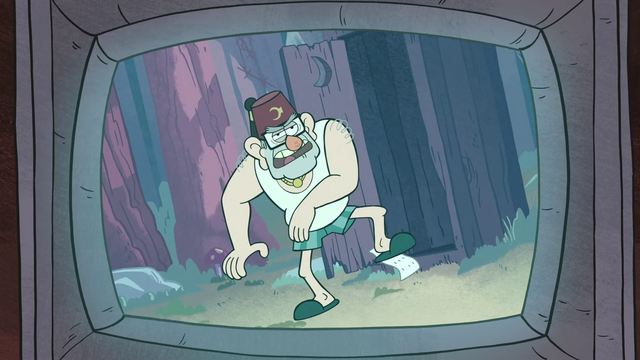 File:S1e4 grunkle stan exiting outhouse.png