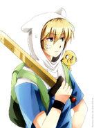 Anime version of finn